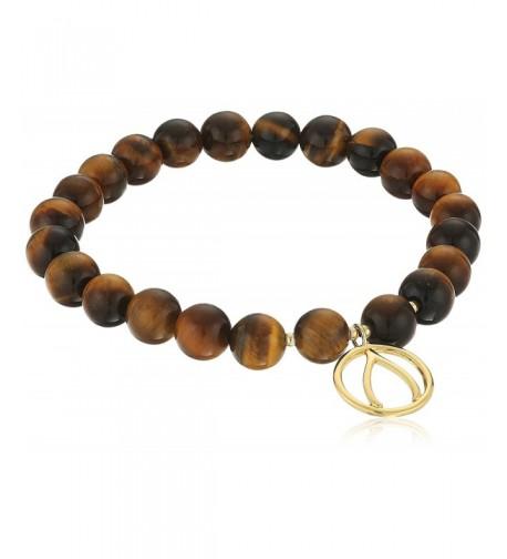 Genuine Wishbone Stretch Gemstone Bracelet
