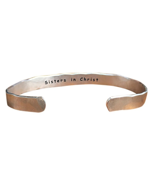 Sisters Christ Stacking Personalized Adjustabl