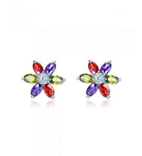 Zirconia Earrings VIKI LYNN Gold Plated