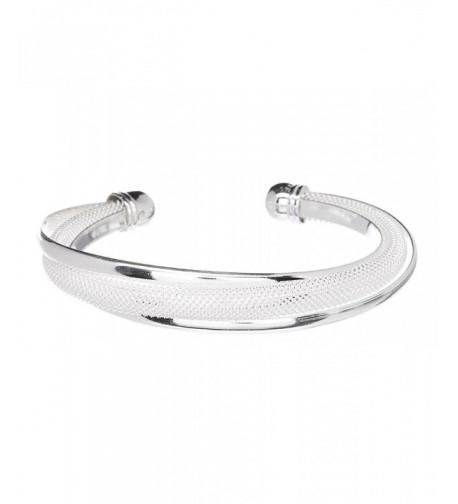 Sterling Silver Plated Bracelet Bangle