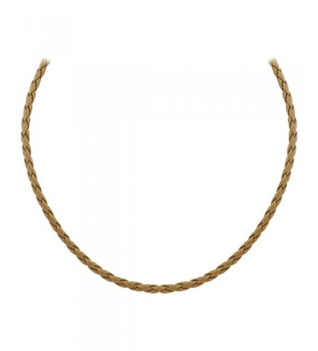Gem Avenue Sterling Braided Necklace