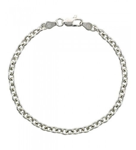 Sterling Silver Cable Necklace Nickel