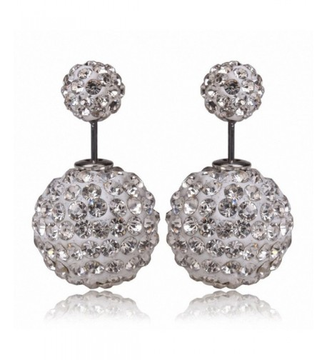 megko Fahiosn Shambhala Crystal Earrings