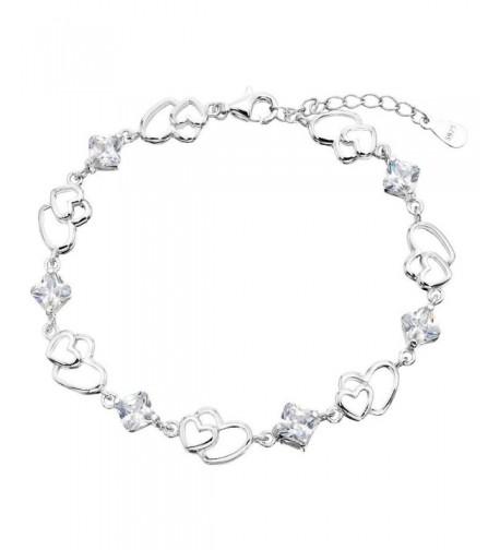 EleQueen Sterling Silver Bracelet Extender