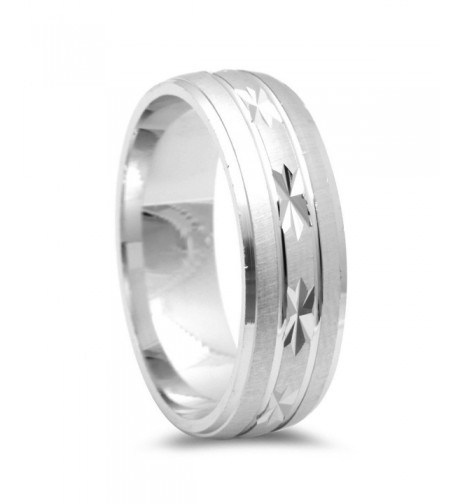Designer Diamond Wedding Sterling Silver