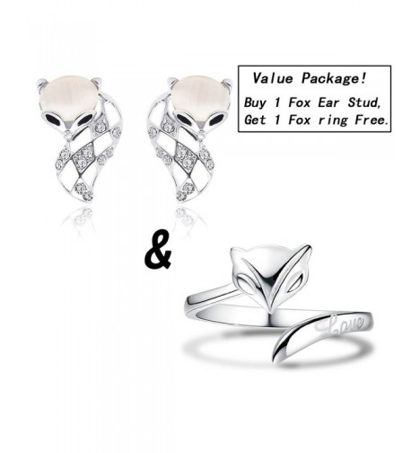 Package Fashion Pierced Earrings Crystal