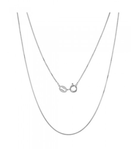 Sterling Silver Chain Necklace Nickel