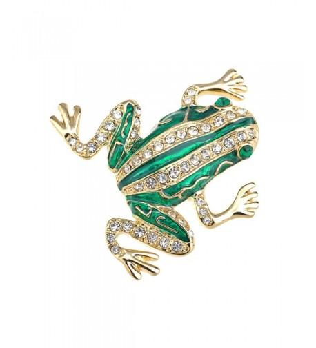 Alilang Crystal Rhinestone Emerald Fashion
