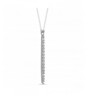 Sterling Vertical Necklace Layering Minimalist