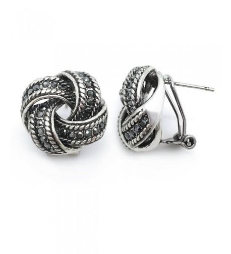 Sparkly Bride Earrings Vintage Crystal