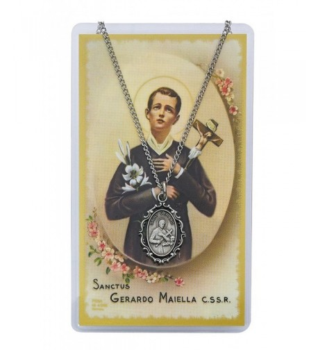 Adult Gerard Pewter Necklace Prayer