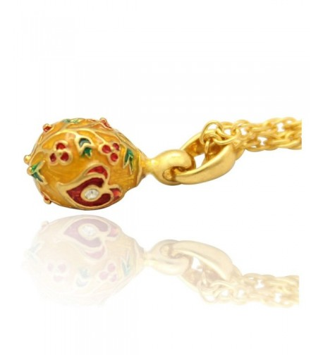 MYD Jewelry Plating Faberge Necklace