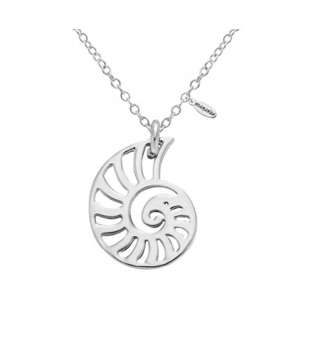 NOUMANDA Silver Seashell Necklace Necklaces