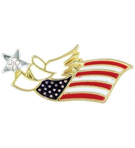 FLAG PATRIOTIC Wings Wishes Angel