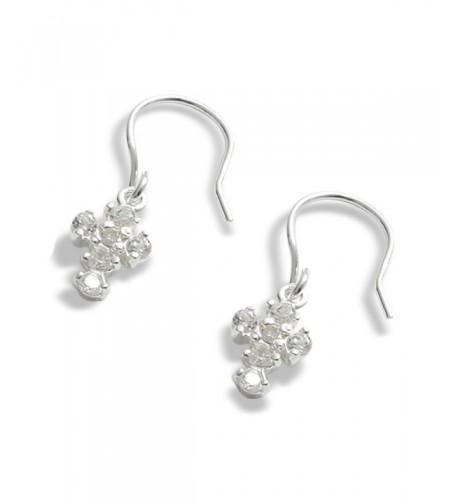 LJ Designs 256 Crystal Earrings