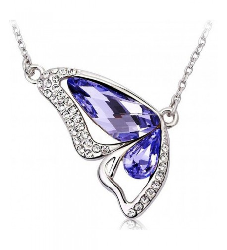 Infinite Butterfly Teardrop Waterdrop Austrian