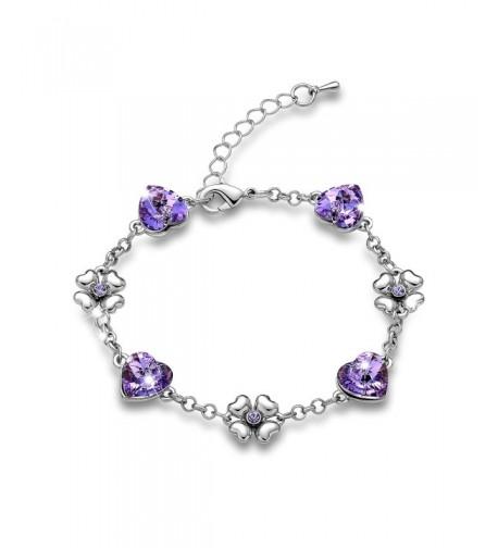 Swarovski Elements Bracelet Girlfriend Jewelry034