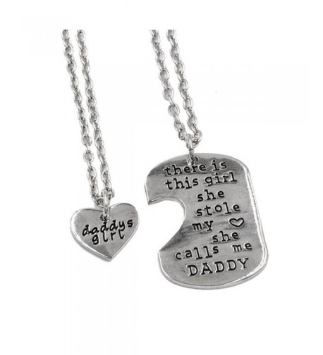 Udobuy2 Father Daughter Necklace Fathers