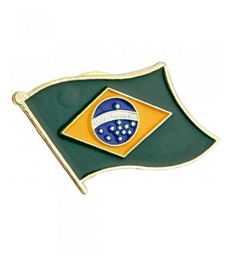 US Flag Store Brazil Lapel
