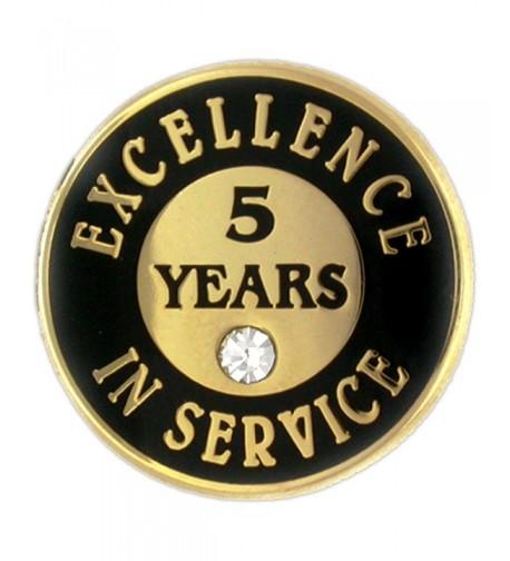 PinMarts Excellence Service Enamel Rhinestone