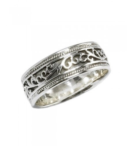 Sterling Silver Antique Style Wedding