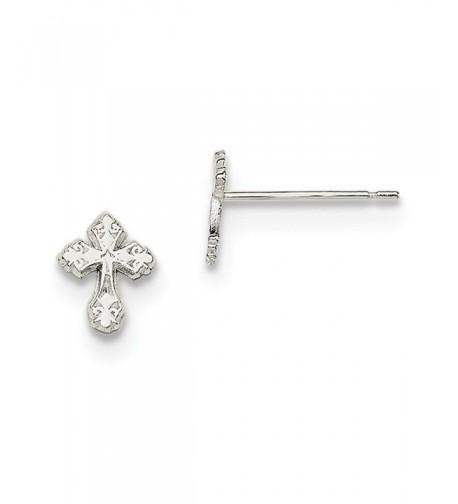 Diamond2Deal Solid Sterling Silver Earrings