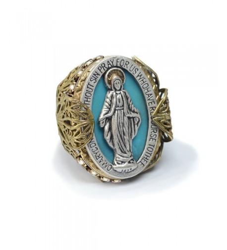 Miraculous Medal Virgin Prayer Religious
