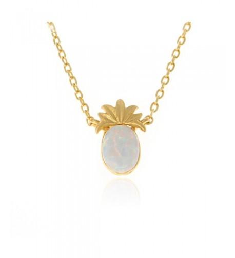 LAONATO Created Pineapple Pendant Necklace