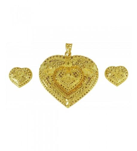 Banithani Goldplated Pendant Earring Traditional