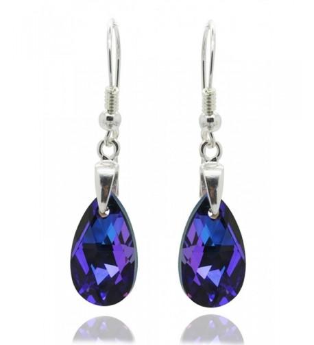 Royal Crystals Swarovski Sterling Earrings