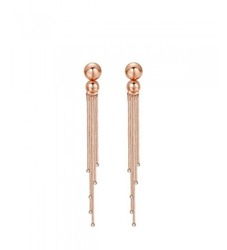 Carfeny Crystal Simple Wedding Earrings