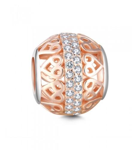 Glamilia Sterling Zirconia Filigree Bracelets