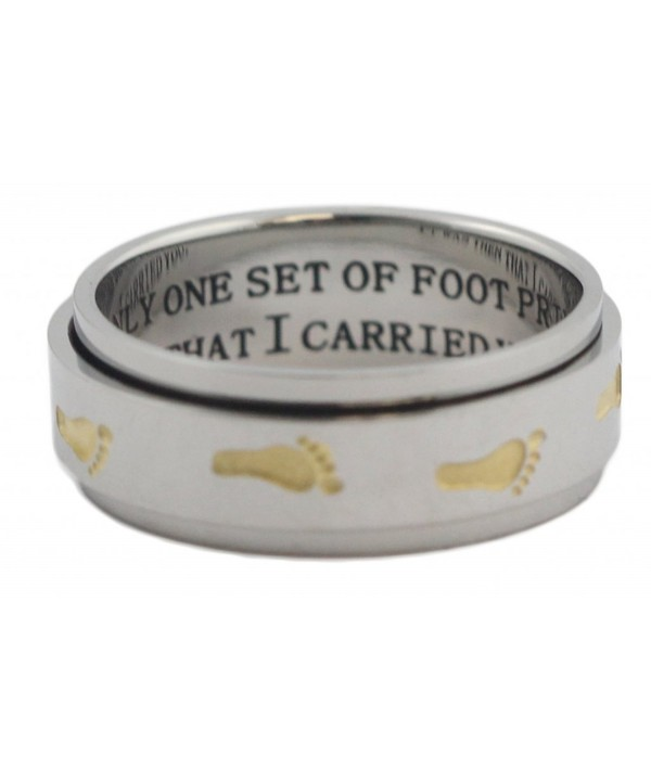 Footprints Sand Spinner Inspirational Wedding
