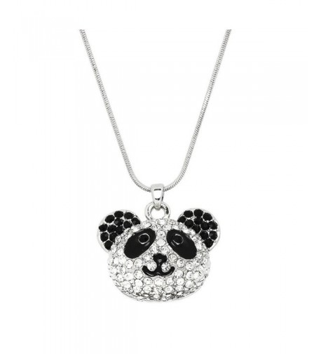 Liavys Panda Pendant Fashionable Necklace