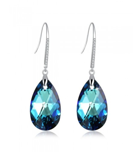 PLATO Birthstone Earrings Swarovski Crystals