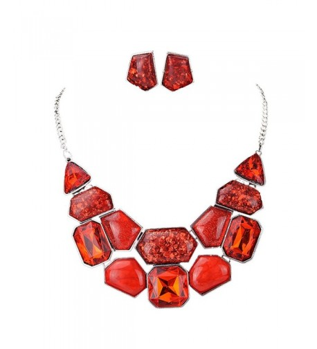 Fabal Fashion Crystal Necklace Statement