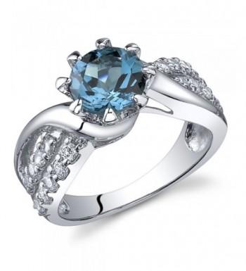 carats London Sterling Silver Rhodium