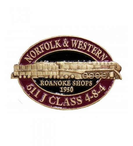 Norfolk Western 611 Locomotive Lapel