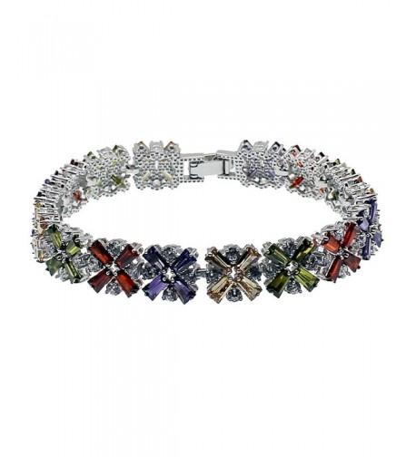 Bracelet Amethyst Morganite Bracelets Gemstone