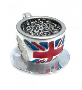 Sterling Silver British Enamel European