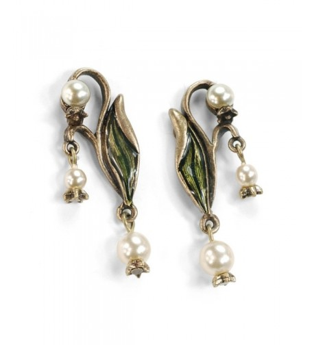 Vintage Valley Wedding Anniversary Earrings