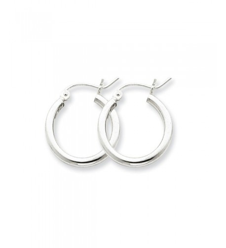 Sterling Silver Small Classic Earrings