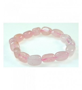 LUOS Simulated Quartz Bracelet Love