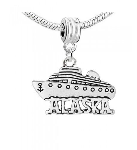 Carved Alaska Compatible European Bracelets