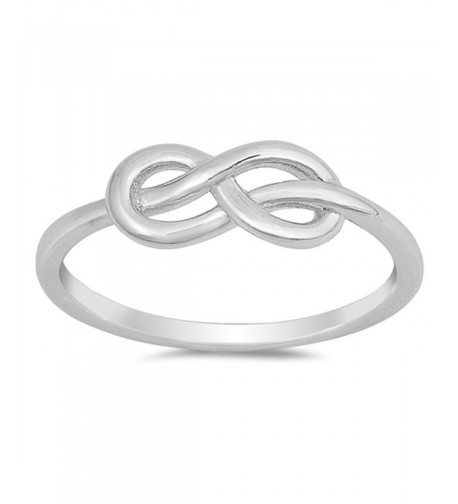 Infinity Promise Sterling Silver RNG17473 7