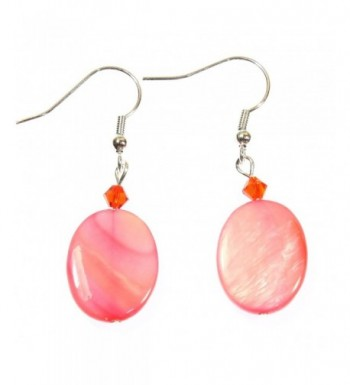 Islands Bright Mother pearl Earrings
