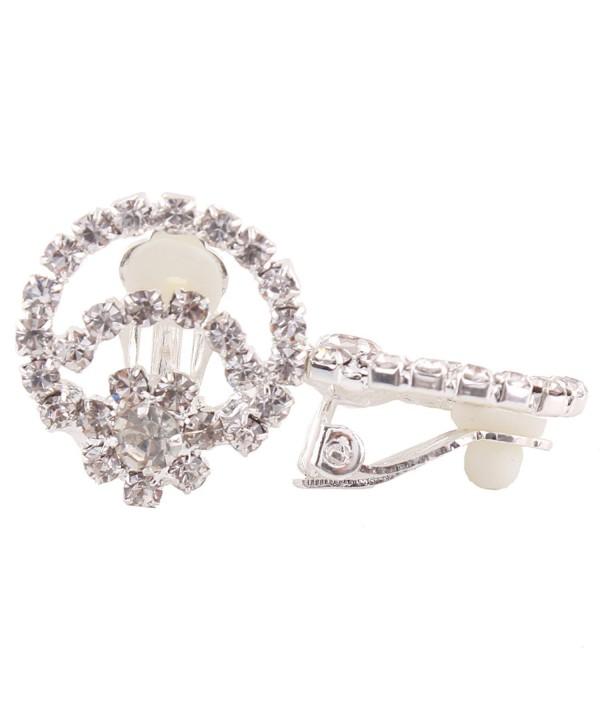 Crystal Earrings Wedding Jewelry Accessories