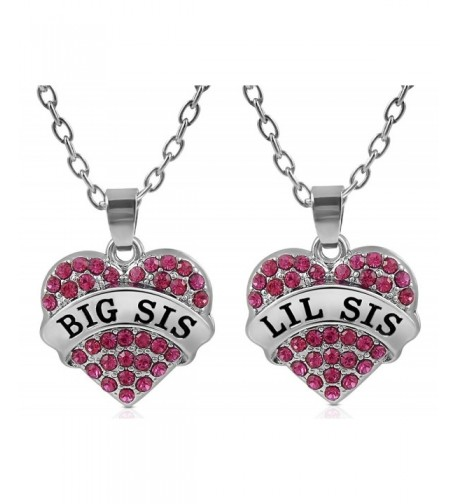 Matching Crystal Necklace Sisters Friends