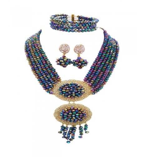 African Necklaces Nigerian Jewelry Multicolors